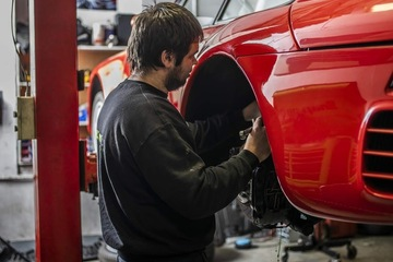 Free MOT or 4 Wheel Alignment with a Major Service at Revolution Porsche