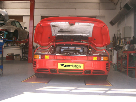Porsche servicing and upgrades will continue as normal.