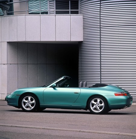 An early 996 Cabriolet is the most affordable 911 drop top.